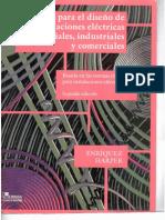 (Libro) Guia Para El Diseño de Instalaciones Electricas Residenciales Industriales y Comerciales