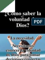 Cómo Saber La Voluntad de Dios IBE Callao Jovem Oct 2012