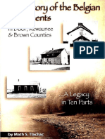 The History of the Belgian Settlements