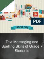 text messaging skills result