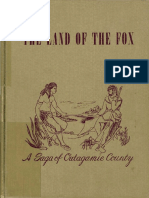 The Land of the Fox a Saga of Outagamie County