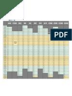 Calendário Mensal de Qualquer Ano Com Anotações1