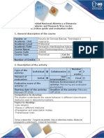 Activities Guide and Evaluation Rubric Unit 1 - Step 1