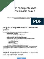 2.b. Program Mutu & Keselamatan Pasien.ppt
