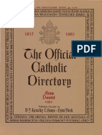 The Official Catholic Directory Anno Domini 1980