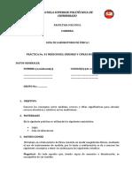 PráCtica 1 (Errores y Cifras Significativas)