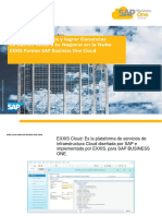 SAP Business One Cloud EXXIS