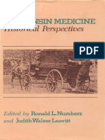 Wisconsin Medicine Historical Perspectives