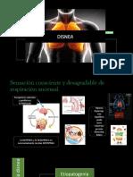 Semiologia y Fisiopatologia de La Disnea