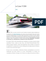 Tren Coradia Liner V200