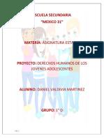 DERECHOS DE LOS ADOLESCENTES