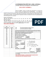 Rubrica y Solucion Segunda Evaluación Estadística Inferencial