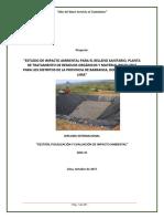 Estudio de Impacto Ambiental Para El Relleno Sanitario, Barranca