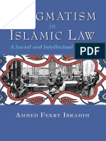 Pragmatism in Islamic Law a Social and Intellectual History (2015) by Ahmed Fekry Ibrahim