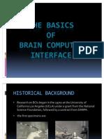 The Basics of Bci