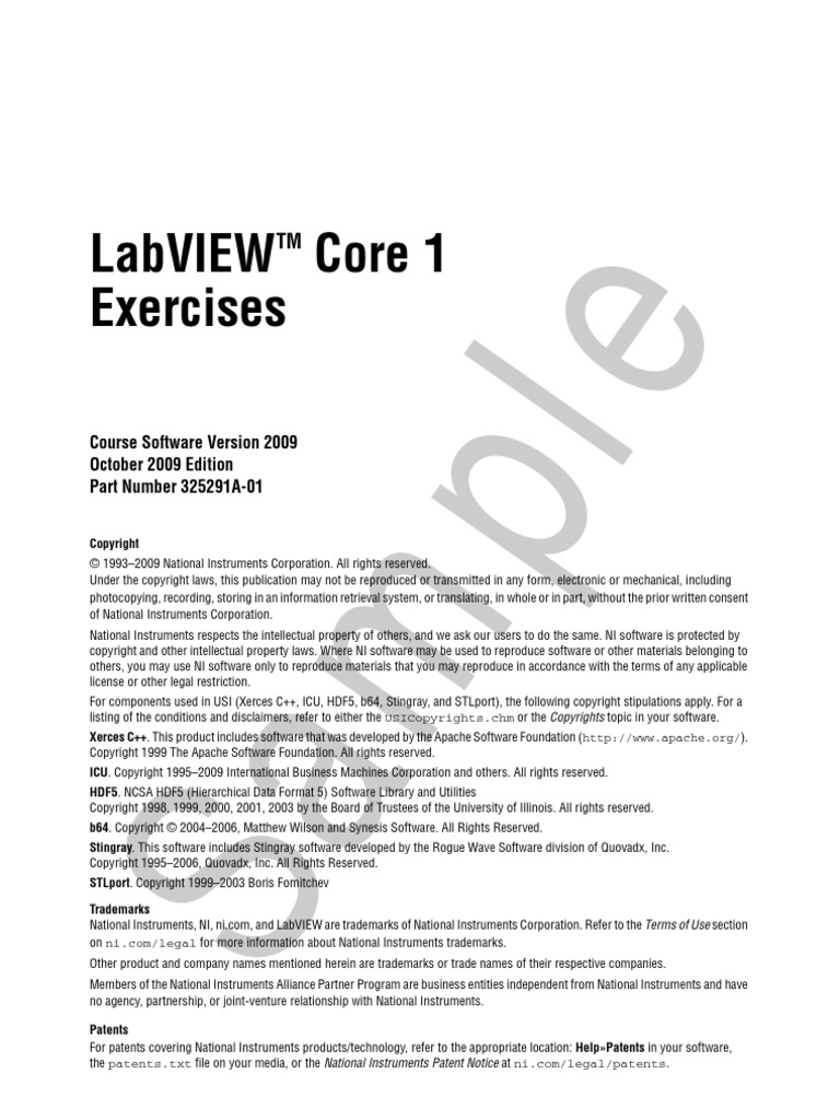 Labview basics ii course manual ba2