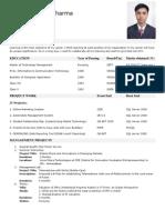 Siddharth Resume