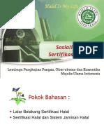 Sosialisasi Sertifikasi Halal.ppt
