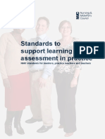 Nmc Standards to Support Learning Assessment