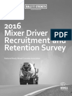 2016MixerDriverRecruitmentRetentionSurveyExecutiveSummary
