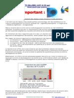 Chloration eau chaude et polyoléfines (PP, PB, PE, ...) ATTENTION !!!