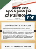 Mentaksir Murid Disleksia
