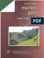 Kecamatan Biuk Dalam Angka 2016