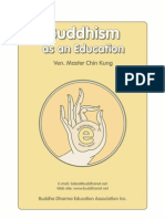 Buddhism as an Education