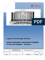 Laporan Struktur Rektorat Ubaya