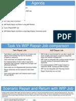 Oracle Depot Repair - WIP Repair Jobs