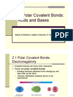 Polar Bond and Acid_base