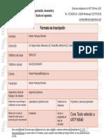 Formato de Inscripción Puebla