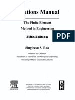 Solution Manual for the Finite Element Method in Engineering, Fifth Edition - Singiresu S. Rao
