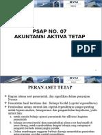 (12) PSAP 07_Aset Tetap