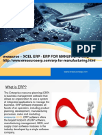 Why Xcel ERP for Manufacturing Industry