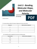 Chem 110 Workbook Unit 3