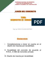 Clase 11 - Durabilidad en El Concreto