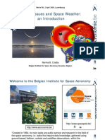 Health Issues and Space Weather