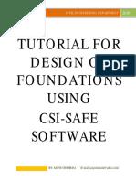 tutorial for design of foundations using safe