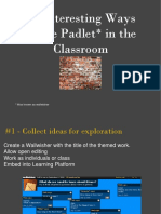 32 Interesting Ways to Use Padlet in the Classroom  (Recuperado).pptx