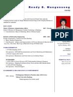 MBA Resume Rendy