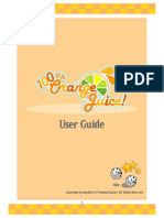 100p Orange Juice - Steam Version - User Guide