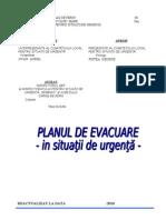 Plan Evacuare