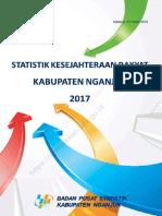 Statistik Kesejahteraan Rakyat Kabupaten Nganjuk 2017