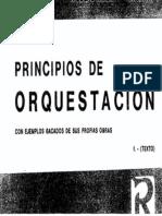 Principios de Orquestación (de Rimsky-Korsakov)