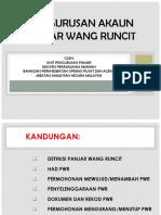 Pengurusan Panjar Wang Runcit