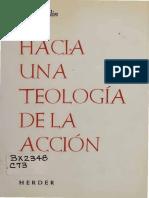 J. Comblin - Hacia Una Teología de La Acción