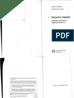 Narrative Inquiry -- Clandinin Connelly