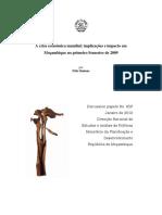 65P - Impacto da crise financeira em Moçambique