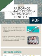 Psiquiatria - Enfermedades Geneticas y Demencia